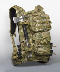 HG 730 Modular Pack, this is exactly what I want for when I go out on a trip. Could be set up with larger pockets for longer trips or kept small for a day trip.