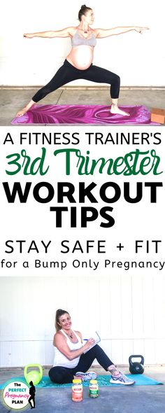 Third Trimester Pregnancy Workout Tips and Tricks, Third Trimester Workout, 3rd Trimester, Prenatal Workout, Pregnancy Workout, Prenatal Exercise, Pregnancy Tips, Workout Tips, Pregnancy Fitness, Trimesters Of Pregnancy