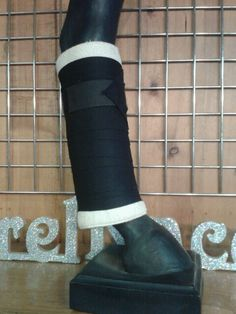 Keep your horses legs conditioned with our no bow leg wraps Www.joseywesternstore.com
