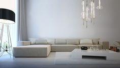 Cryst - Vintage 1 Sofa, Couch, Vintage Chandelier, Drop, Led, Warm, Interior Design, Modern, Inspiration