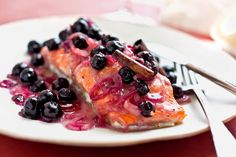 Partners in Freshness: King Salmon and Blueberries —A Good Appetite - The New York Times