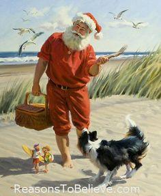 Fun Seekers   Santa Claus Figurines and Hand Carved Wooden Santas #Santa #Santa_Claus