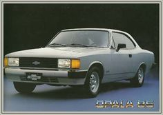 21526 GM - CHEVROLET 1985 - OPALA - 2 portas cupê. S - 41x29-