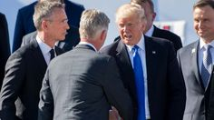 US appeals court maintains block on Trump travel ban   By AFP            NATO Secretary General Jens Stoltenberg, King Philippe of Belgium...
