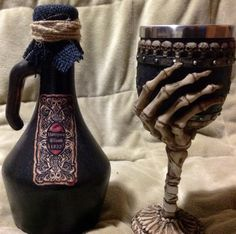 Potion & Goblet by UniqueThingamajigs