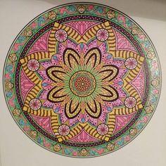 ColorIt Mandalas Volume 2 Colorist: Cindy Turner Uselton #adultcoloring #adultcoloring #coloringforadults #adultcoloringpages #mandalas