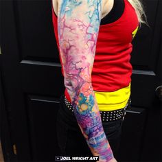 OMG GORGEOUS! http://www.joelwrightart.com/wp-content/uploads/2014/10/watercolor_sleeve.png
