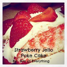 Nutritional Value Strawberry Poke Cake