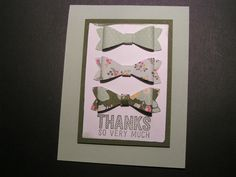 Stampin' Kat: Bow Builder All A Bloom
