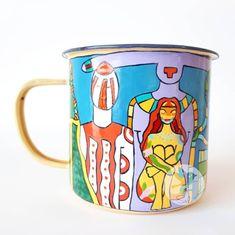 """45 Me gusta, 0 comentarios - Sol DecoHogar (@soldecohogar) en Instagram: """"Estoy segura que la festejada quedará llenita de amor cuando  vea su regalito 😍 Deslicen y vean el…"""" Mugs, Tableware, Instagram, Sun, Dinnerware, Cups, Tumbler, Dishes, Mug"""