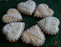 Gingerbread Cookies Lace Cookies, Cut Out Cookies, Cupcake Cookies, Sugar Cookies, Valentine Cookies, Holiday Cookies, Valentines, Gingerbread Cookies, Gingerbread Recipes