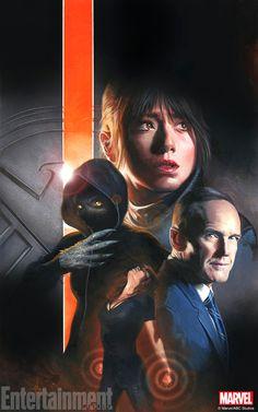La première saison d'Agent Carter s'est terminée donc les Agents of SHIELD are back ! Pour marquer le coup, une affiche signée Gabriele Dell'Otto.