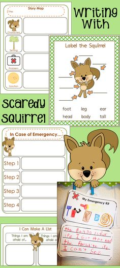 Writing with Scaredy Squirrel
