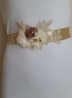 wedding belt,Wing,Baby Shower Sash Mommy to Be Sash bridal belt champagne satin,handmade flowers,wedding belt Long Waist. Bride Belt, Bridal Sash Belt, Wedding Gloves, Wedding Belts, The Wedding Date, Free Wedding, Baby Shower Sash, Bride Accessories, Wedding Frames
