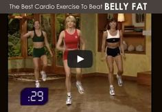 The BEST cardio exercise to beat belly fat #exercise #fitness