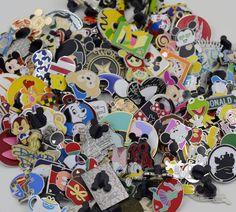 Disney Trading Pin 50 lot HM-LE-CAST no Doubles 100% Tradable**B**