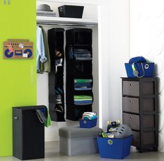 Organizing a dorm closet is a game of inches. #storage #Kohls