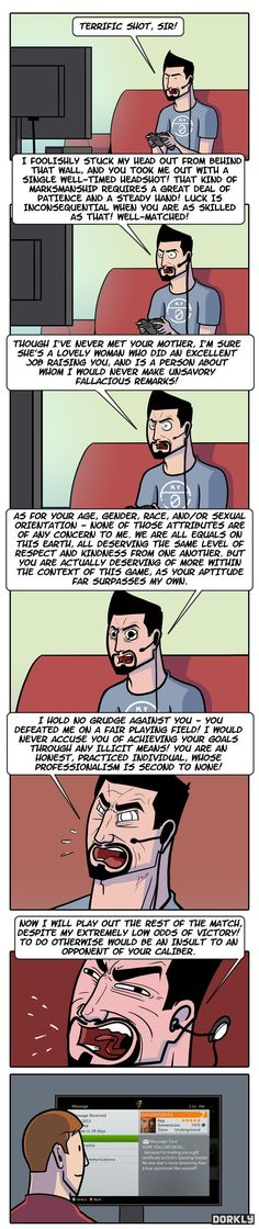 """Xbox LIVE in the Mirror Universe"" #dorkly #geek #xboxlive"