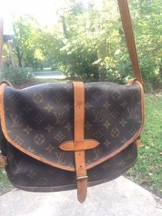 Authentic Vintage Louis Vuitton Saumur 30 used great condition  fashion   clothing  shoes   ae4eb6f963504