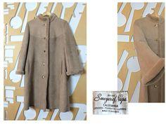 Suede Coat, Shearling Coat, Wool Coat, Fur Coat, Sheepskin Jacket, Folk Festival, Vintage Wardrobe, Cute Jackets, Vintage Coat