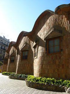 The Sagrada Familia School.1909. Barcelona, Spain. Antoni Gaudi.