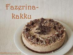 Kakkumonsteri: Fazerina juustokakku