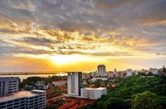 Maputo Maputo, Homeland, Seattle Skyline, Clouds, Celestial, Sunset, Travel, Outdoor, Viajes