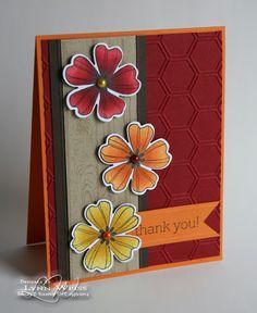 LW Designs: Flower Shop Blendie Pair using Blendabilities Markers