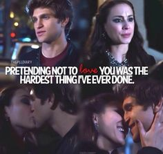 Pretty Little Liars. Toby and Spencer. #SPOBY I loved this scene so much! They are seriously just the cutest couple ever! My favorite couple! ❤️❤️