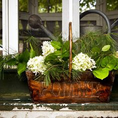 Pomme Basket --- wood, by Fill with pots. Study Interior Design, Beautiful Interior Design, Garden Coffee Table, Coffee Table Books, Living Room Sets, Living Room Furniture, Luxury Sofa, Garden Gifts, Table Decorations
