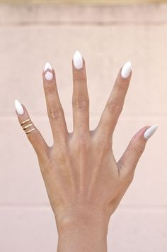 Pointy Almond Nail designs (4)