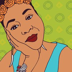 Amina. Commissioned for her editor profile picture for Q-zine magazine. #illustration #editorial #portraits