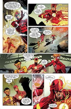 "First Look: THE FLASH #9 – ""Kid Flash of Two Worlds!"" 