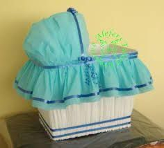 Cuna moises para regalos baby shower