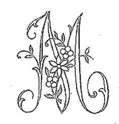 alphabet - Broderie d'Antan