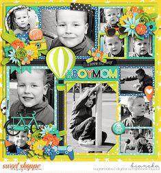 grace lee - mommy's boy | kit cindy schneider - photo palooza 163 | template