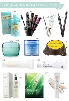 12 Korean beauty products to try - Hellobee