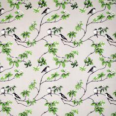 Klosterträdgården fabric from Arvidssons Textil by Mialotta Arvidsson-Mars Curtain Fabric, Fabric Decor, Curtains, Scandinavian Fabric, Scandinavian Design, Canvas Fabric, Cotton Canvas, Cotton Fabric, Pretty Patterns