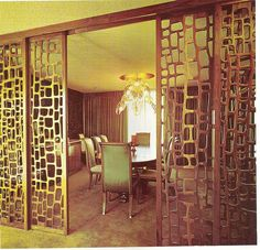 "Decorative wall screens -- 6 mid century styles -- ""Redi-Screens"" from Crestview — Retro Renovation"