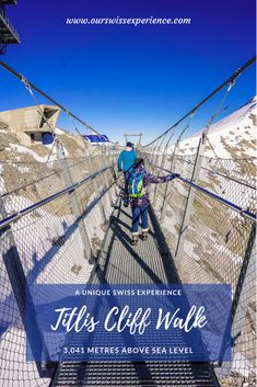 Experience Mt. Titlis Engelberg, Winter Walk, Winter Hiking, Travel With Kids, Family Travel, Mount Titlis, Grindelwald, Car Station, Der Bus