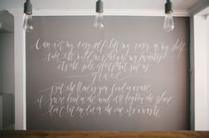 #quotes, #studio-space, #walls  Photography: Heidi Lau - heidilau.ca  Read More: http://www.stylemepretty.com/living/2014/09/03/behind-the-scenes-sweet-woodruff/