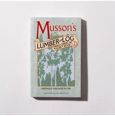 1905 Musson's Lumber Pocket Book - Bookshelf - Camp Home