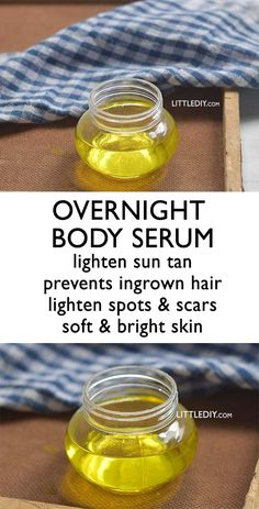 OVERNIGHT BODY SERUM for moisturized, glowing skin Hands and legs are prone to after-waxing bumps and ingrown hair, darkening of the knees and elbows, sun tan, drying and inflammation due to excess shaving and what not! Our limbs are the first ones to Prevent Ingrown Hairs, Prevent Wrinkles, Ingrown Hair Remedy, Diy Ingrown Hair Serum, Diy Ingrown Hair Treatment, Diy Hair Serum, Biotin, Vitamin C Pulver, Mascara