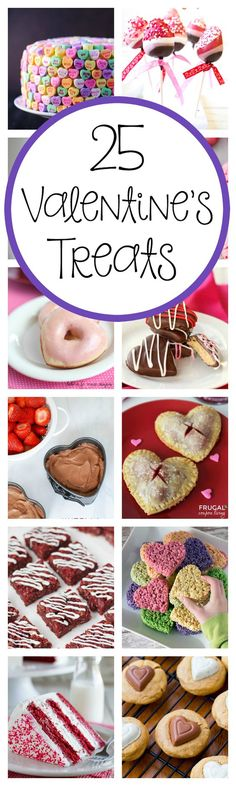 25 Amazing Treat Ideas for Valentine's Day