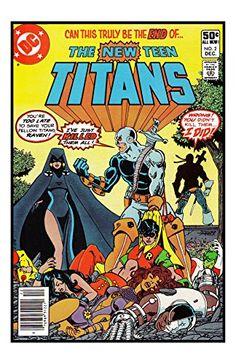 DC Comics The NEW TEEN TITANS #2 1st Appearance Deathstroke Unsigned 11x17 Comic Cover Photograph null http://www.amazon.com/dp/B011GYE496/ref=cm_sw_r_pi_dp_js7Yvb17FJ0SQ