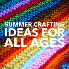 Check out these awesome craft ideas for kids of all ages!
