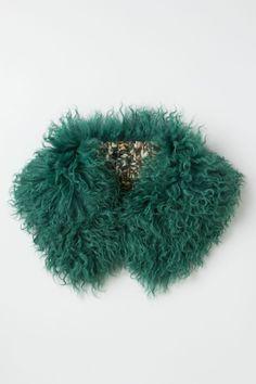 Shearling Collar - Anthropologie.com