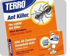 Terro Ant Killer 2 oz Liquid Bait by Terro. $11.97. The liquid ant killer. Contains Borax. Kills all common household ants. The #1 selling brand in the category for 85 years. Americas leading liquid ant killer provides fast-acting elimination of the queen and entire colony. Safe for use in and around your home. The active ingredient, Borax, is recognized by the EPA as being among the safest and least toxic chemicals available to consumers. (One 1 oz drop bottle).