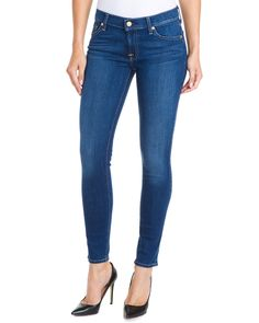7 For All Mankind Gwenevere Verona Skinny Leg is on Rue. Shop it now.