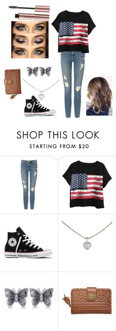 """""""Lets go to the fair"""" by beccascurls ❤ liked on Polyvore featuring Frame Denim, Chicnova Fashion, Converse, Cartier, Allurez and Billabong"""